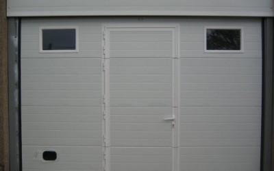 Puerta Automática con puerta peatonal
